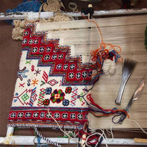 گلیم بافی|Carpet weaving|طرح توجیهی