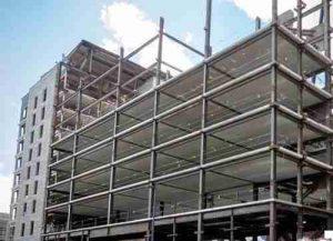 پروژه ساختمانهای بتنی و فلزی پانل سه بعدی