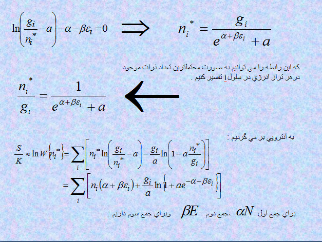 پاورپوینت تئوری گاز ساده