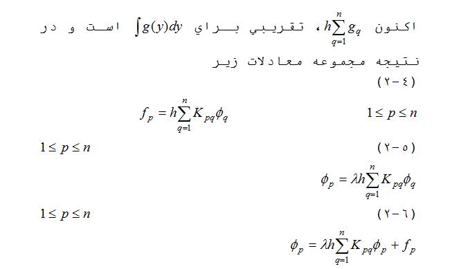 معادلات فرد هولم
