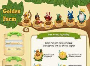 سایت GOLDEN FARM (گلدن فارم) سایت سرمایه گذاری قدیمی