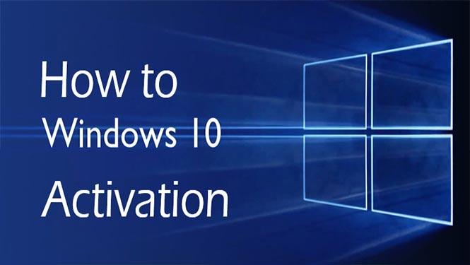فعال سازی Windows 10