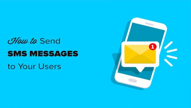 نحوه ارسال پیام کوتاه به کاربران وردپرس شما